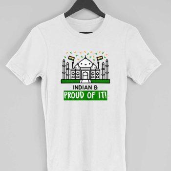 Proud Indian - Men/Women Patriotic Tshirt