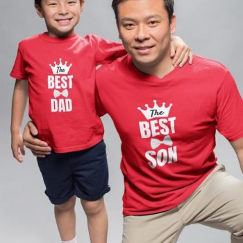 Best Dad and Son - Father and son tshirt combo - desicrow.com