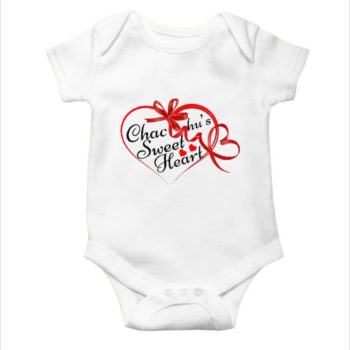 chachu sweet heart | Baby Valentine Romper - desicrow.com